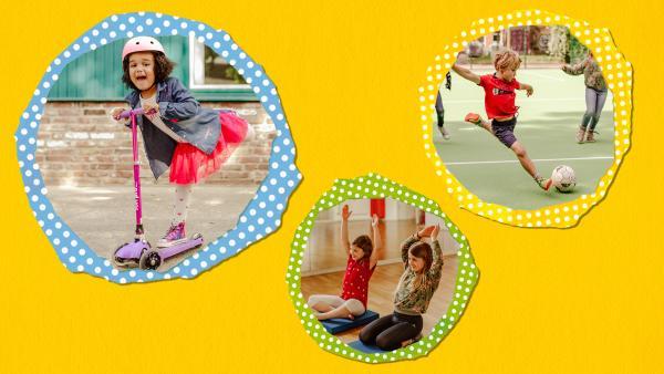 Sport, Spiel und Tanz | Rechte: KiKA/Mira Mikosch