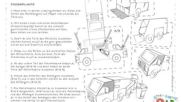 Steckmüllauto | Rechte: KiKA