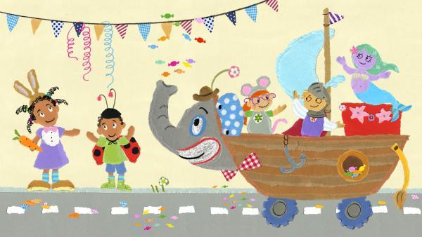 Helau, Alaaf, Ahoi - Wir feiern Karneval!  | Rechte: KiKA