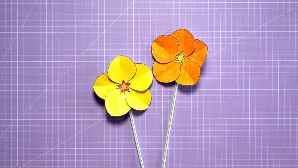 Baumhaus-Blüte selbst gestalten | Rechte: KiKA