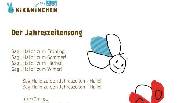 Kikaninchen, Anni und Christian singen über unsere vier Jahreszeiten: Frühling, Sommer, Herbst und Winter | Rechte: KiKA