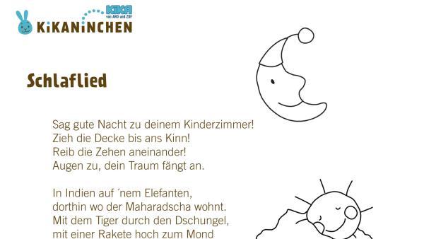 Kikaninchen singt dir zum Einschlafen ein schönes Lied. Gute Nacht und träum schön! | Rechte: KiKA