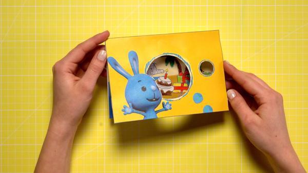 Geburtstagskarte basteln  | Rechte: KiKA