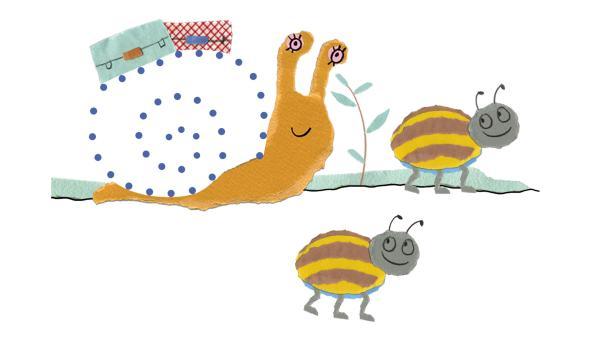 Schnecke und Käfer   Rechte: KiKA