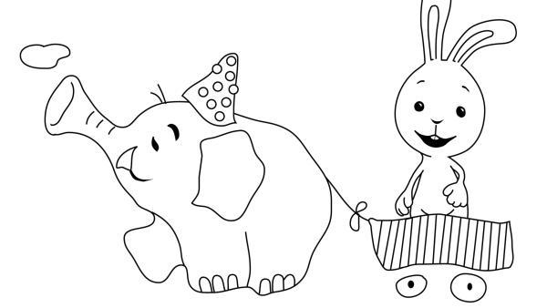 Kikaninchen und der Schnipselelefant | Rechte: KiKA