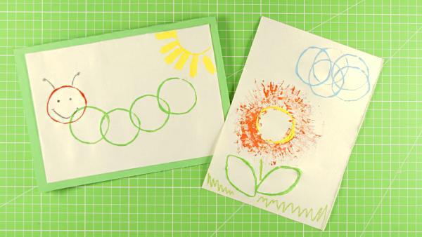 Papprollendruck | Rechte: KiKA