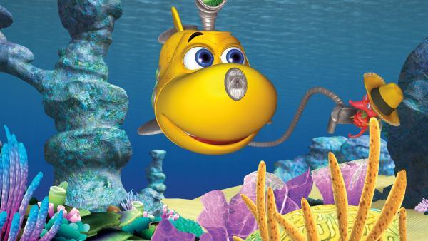 Timmy ist ein junges U-Boot, das mit seinen Freunden die Unterwasserwelt erforscht.  | Rechte: KiKA/Mike Young Prod.