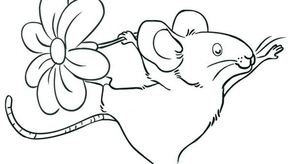 Kleine Feldmaus | Rechte: SLR, SCRAWL, KiKA & HR