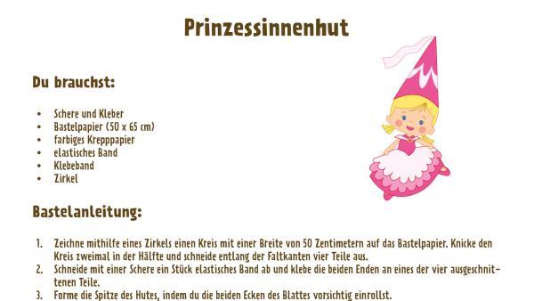Prinzessinnenhut basteln  | Rechte: TM/Splash Entertianment/LLC/KiKA