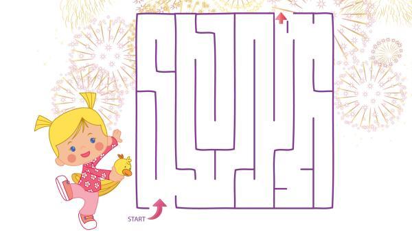 Hilf Zoé durch das Labyrinth!   Rechte: TM/Splash Entertianment/LLC/KiKA